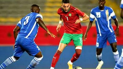 ملخص واهداف مباراة المغرب و افريقيا الوسطي (2-0) تصفيات كاس امم افريقيا