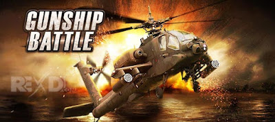 GUNSHIP BATTLE Helicopter 3D Apk + Mod + Data Free Shopping Offline