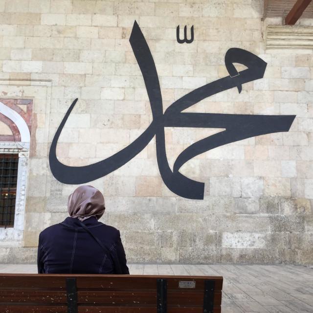 Muhammad name in arabic