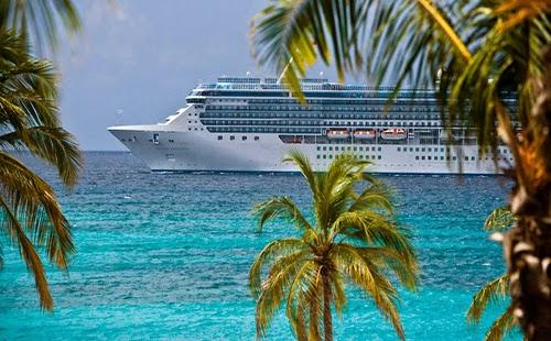 Cruise Ship in Boracay Philippines