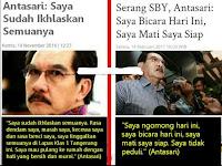"""Dulu Antasari """"Saya Sudah Ikhlaskan Semuanya"""", Sekarang Serang SBY"""