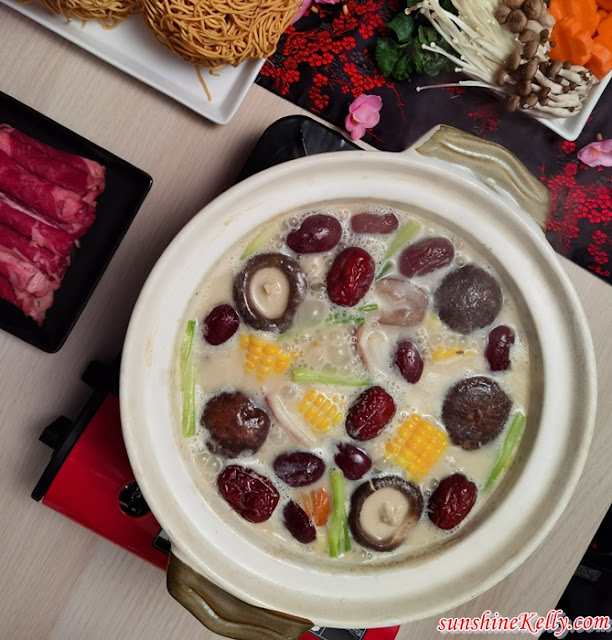Creamy Hot Pot Recipe, Anchor Extra Yield Cooking Cream, Anchor Food Professionals, CNY Food Recipe,  Cooking, Hotpot Recipe, Food