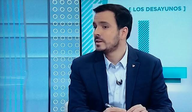"""Garzón """" Para mí la mejor forma de Estado es republicana, pero eso no debe estar reñido con la educación"""""""