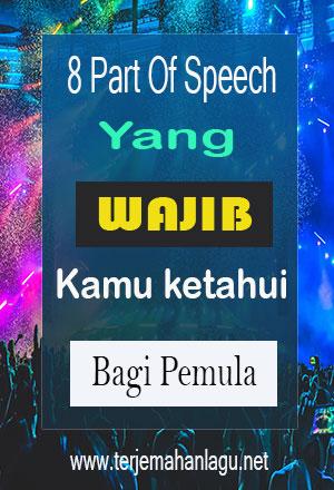Belajar 8 Parts Of Speech Bagi Pemula