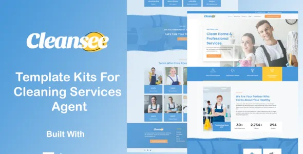 Best Cleaning Service Elementor Template Kit