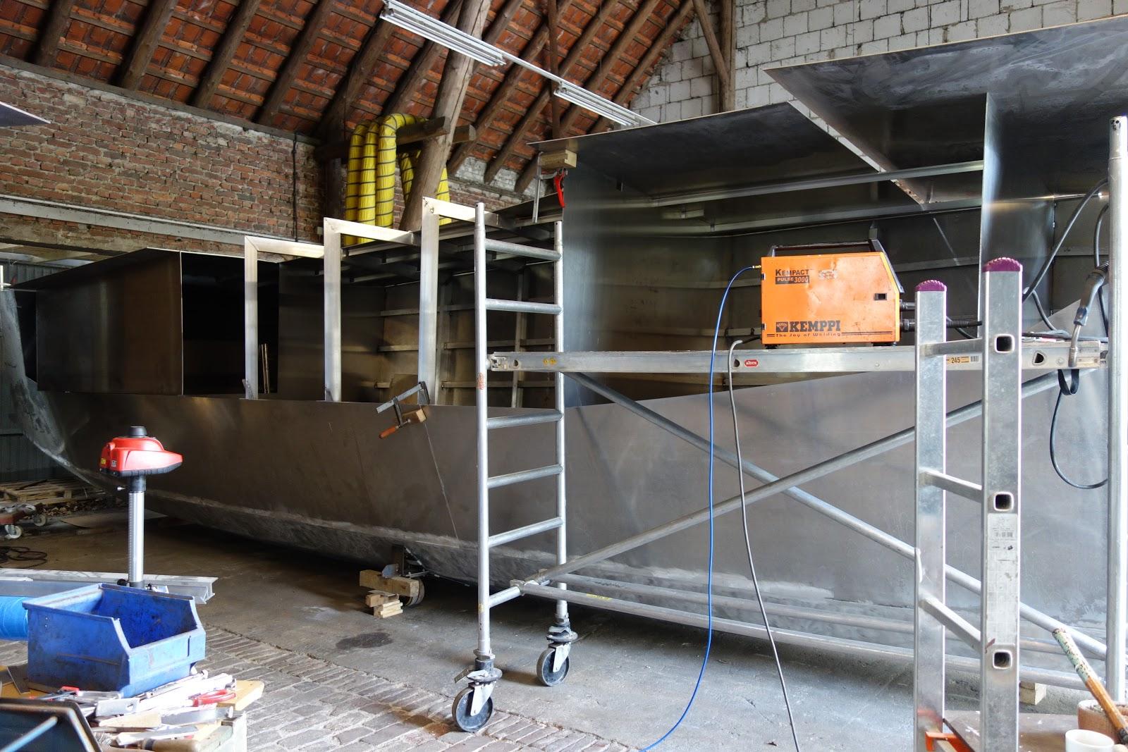 Wir Bauen Einen Aluminium Katamaran - Building An Aluminium