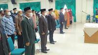 Sekda Lantik 151 Pejabat Jajaran Pemkab Bireuen, Jufliwan Jabat Kadis Pendidikan Dayah