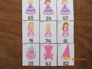 Princess Rounding Numbers to the 10's Place