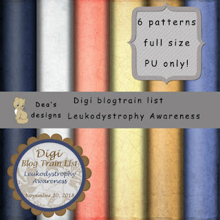 Digi blogtrain list - Leukodystrophy Awareness