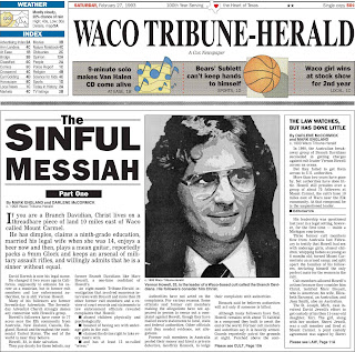 The Waco Tribune-Herald's coverage of the 1993 Branch Davidian siege is now available for free on the newspaper's website