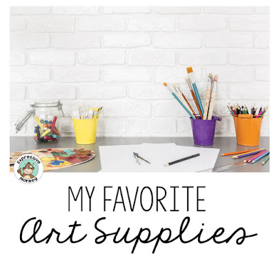Here are some of Expressive Monkey's favorite art supplies.