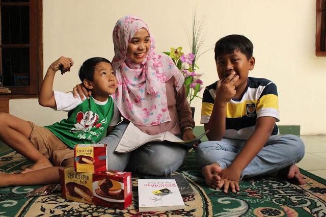 LOTTE Choco Pie, Waktu kualitas bareng anak, ibu dan anak