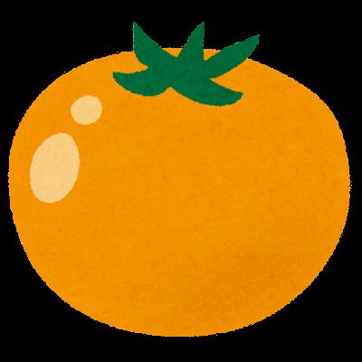 黄色いトマトのイラスト