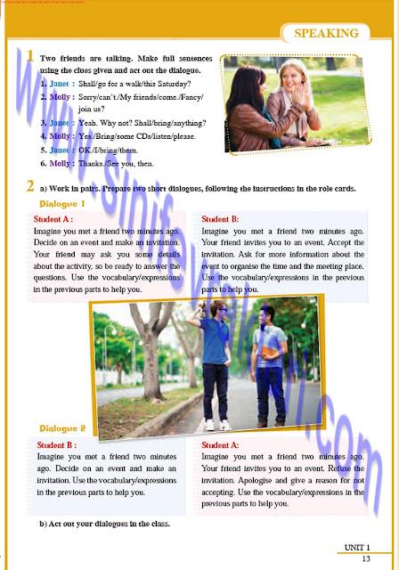 8. Sınıf İngilizce Tutku Yayınları Ders Kitabı Cevapları Sayfa 13
