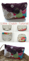 Little Bag Clutch Tutorial & Pattern