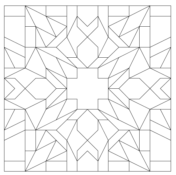 The History of Math: Creating a Geometric Pattern