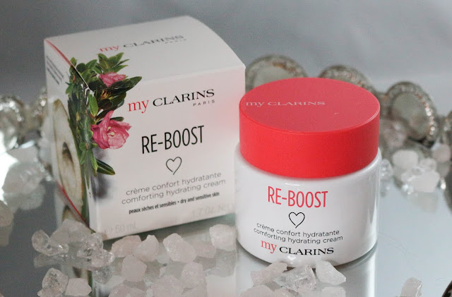 My clarins Re-Boost creme confort hydratante