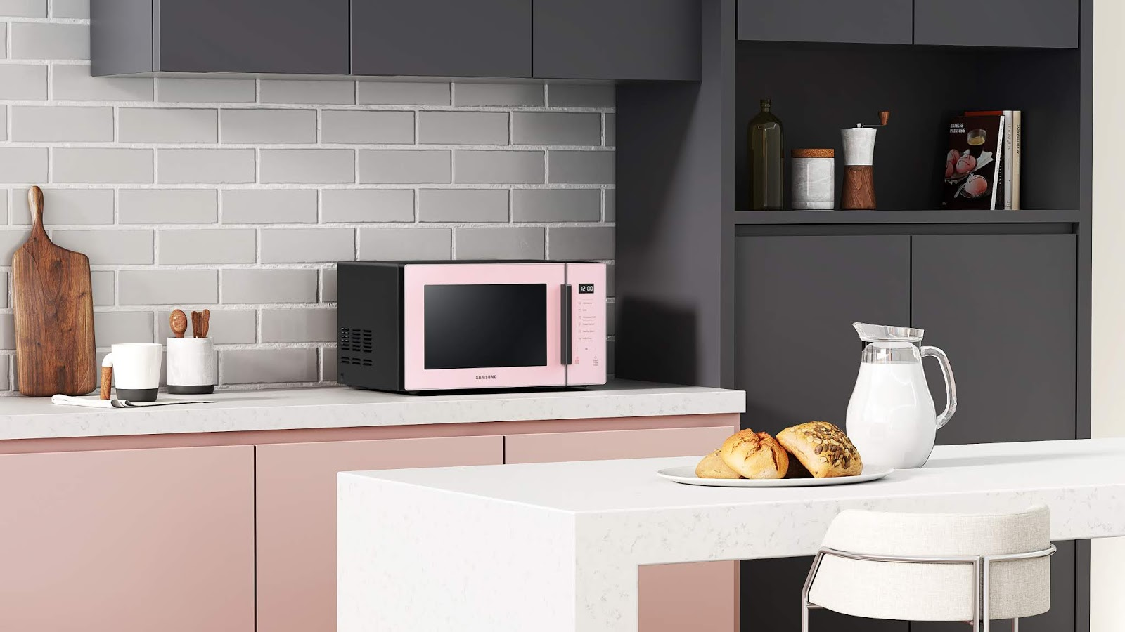 colour series grill microwave ovens