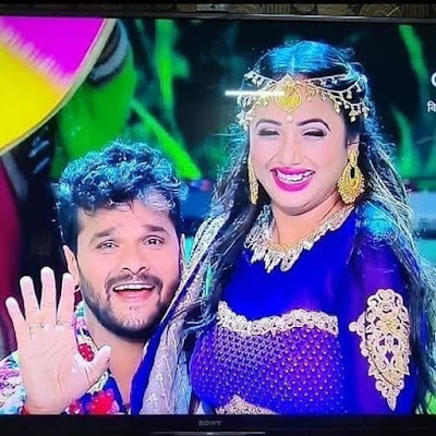 Khesari Lal Yadav and Rani Chatterjee Movie
