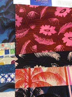 Poolside Cotton and Steel fabric