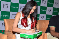 Bollywood Actress Adah Sharma Pos in White Printed Short Dress at OPPO F3 Plus Selfie Expert Mobile Launch .COM 0084.jpg