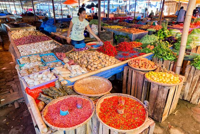 Pasar, Pasar Tradisional, Murah, Sayur, Bumbu, Lauk Pauk, Ikan, Daging, Pasar Pagi