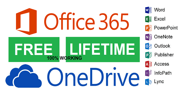 Free Unlimited Onedrive Cloud Storage And Microsoft 365 Free For Lifetime