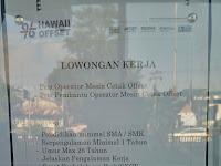 Lowongan kerja Operator Mesin Cetak Offset - Hawaii Offset