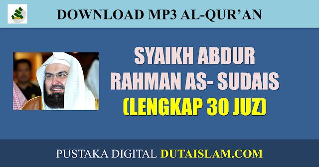 mp3 murottal imam sudais lengkap 30 juz 114 surat alquran