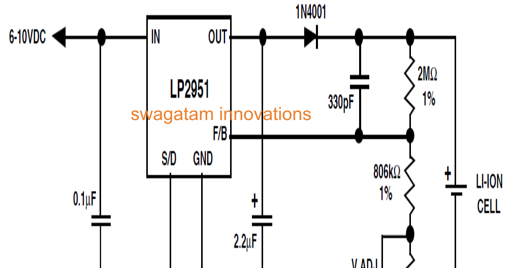 nicd nimh charger electronic circuit diagram