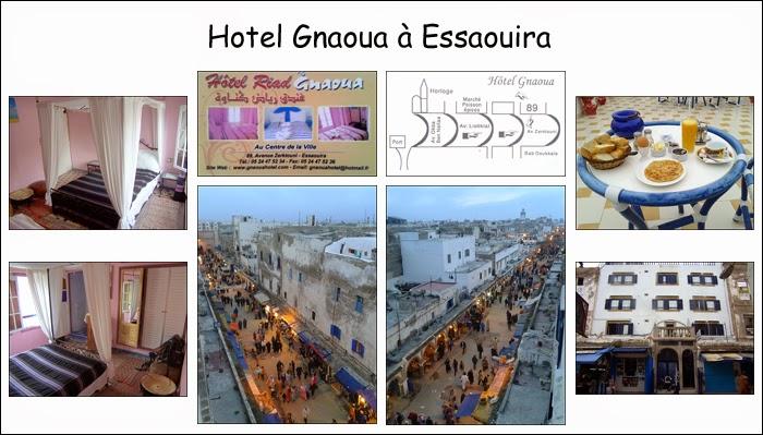 Hôtel Gnaoua à Essaouira