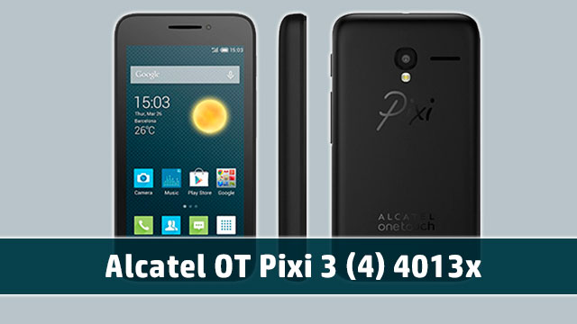 rom stock Alcatel OT Pixi 3 (4) 4013x