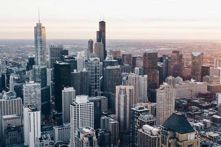 Chicago Skyscrapers Buildings