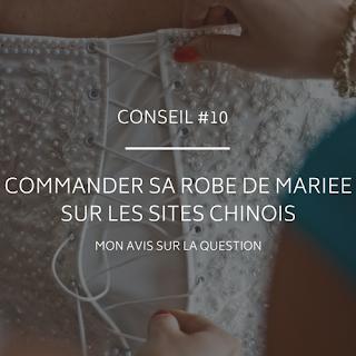 Commander sa robe de mariée sur les sites chinois