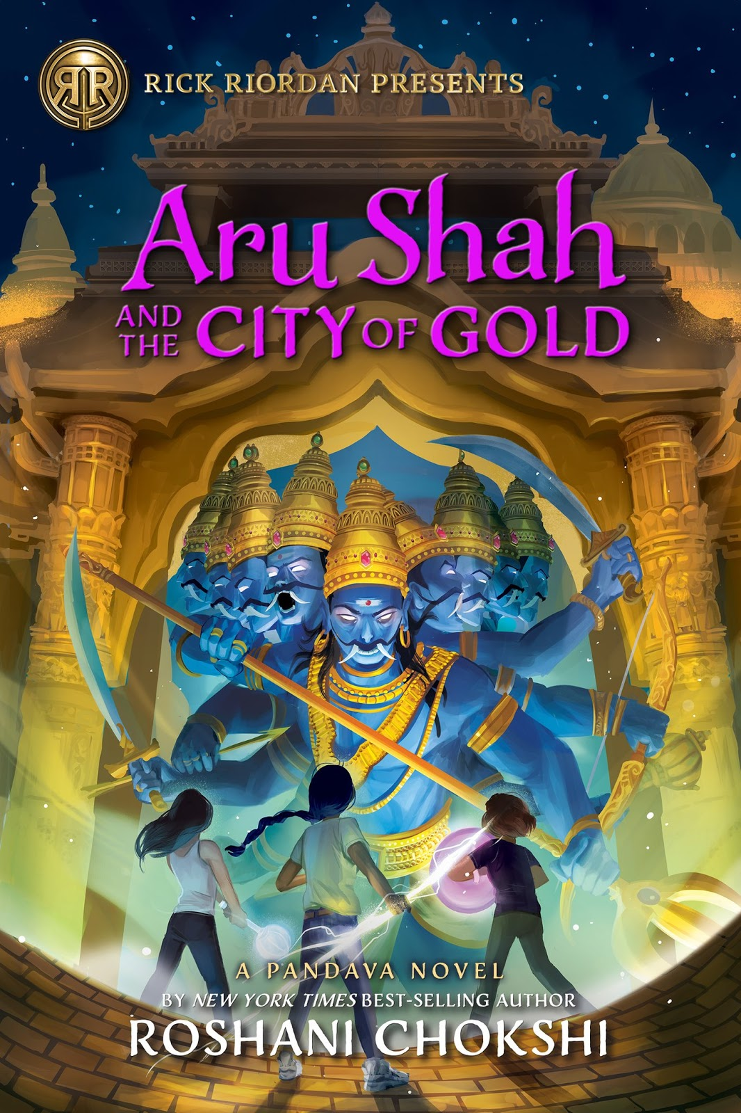 Aru Shah and the City of Gold by Roshani Chokshi