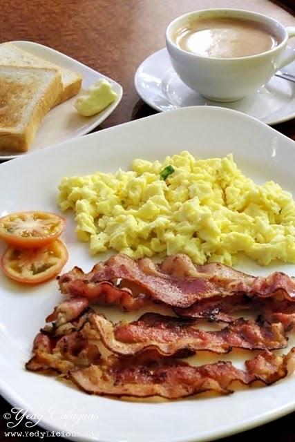 Aristocrat Restaurant Breakfast Bacon Plate