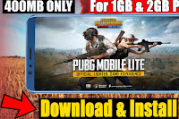 PUBG MOBILE LITE download just 400 mb without vpn