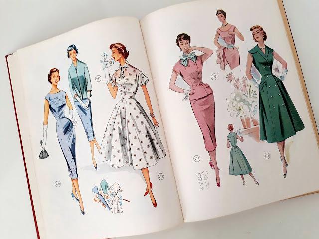 Vestidos Lutterloh 1950s