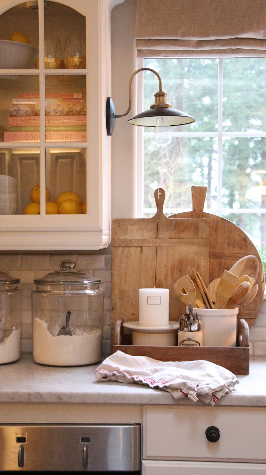 Farmhouse Kitchen Decor: My Sweet Savannah: ~decorating With Candles~