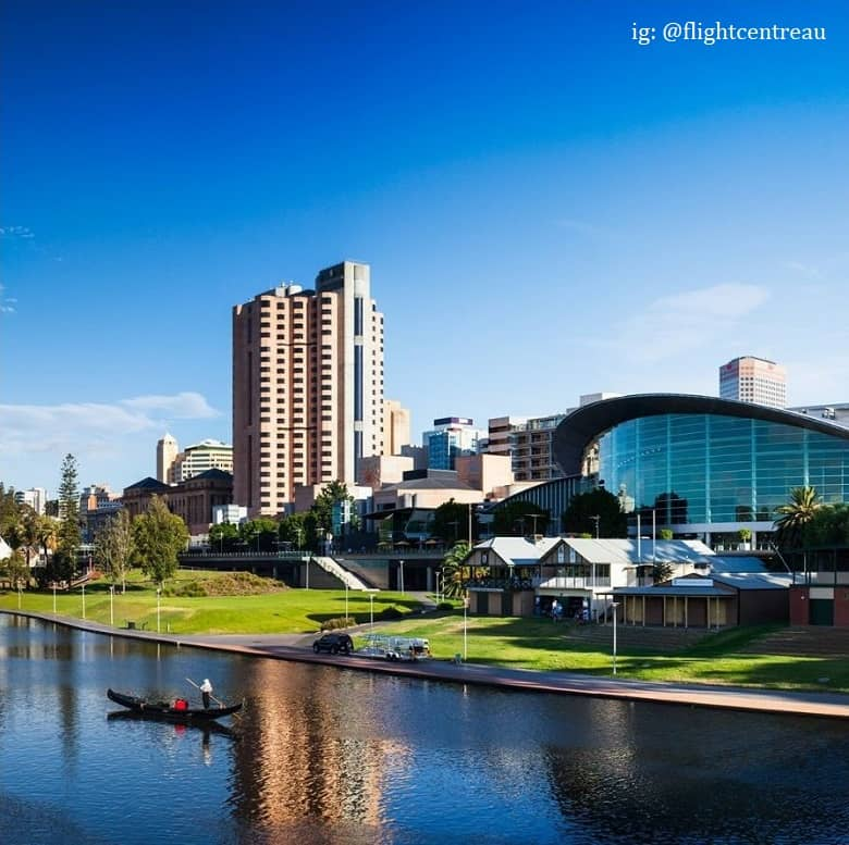 a picture of famous landmark park in Adelaide