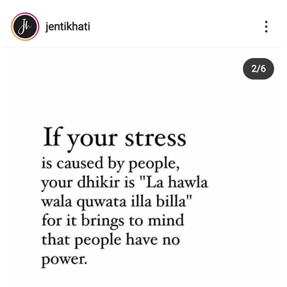Cara Hilangkan Stress Dengan Berkesan
