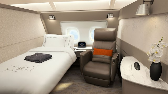 New Singapore Airlines A380 First Class Suite Routes