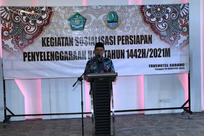 Asrama Haji Indramayu Serasa Masjidil Haram