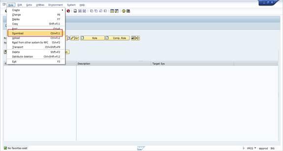 SAP Basis For Beginner: Steps to Download / Upload Roles