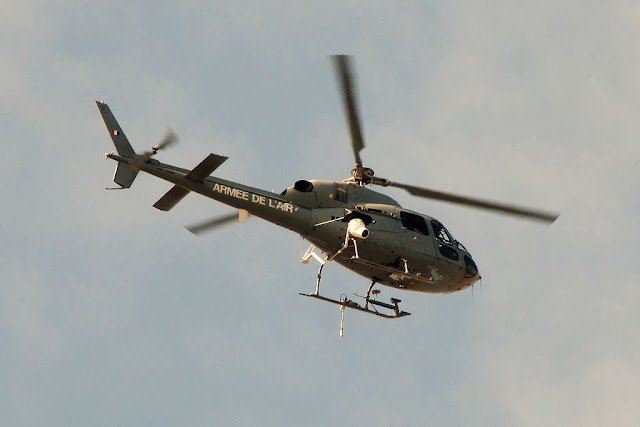 AS 555 Fennec helicopter on Bastille Day, Paris