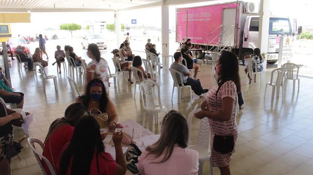 Outubro Rosa: Prefeitura de Patos realiza mutirão de mamografias voltado para demanda espontânea
