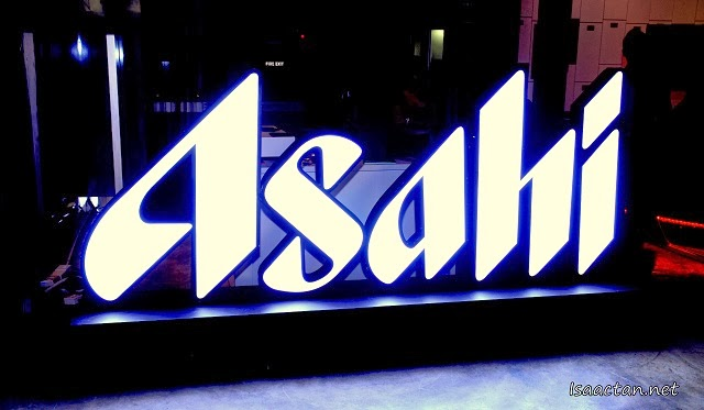 It was all about Asahi Super Dry and partying at Play Club