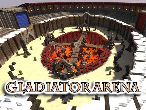 Inspirational Minecraft arena buildings ideas | Minecraft