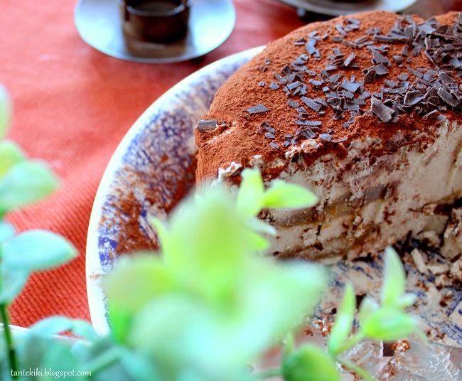 Παγωμένη τούρτα τιραμισού (χωρίς αυγά)
