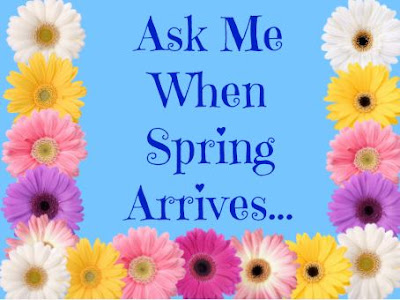 Counting down to spring...